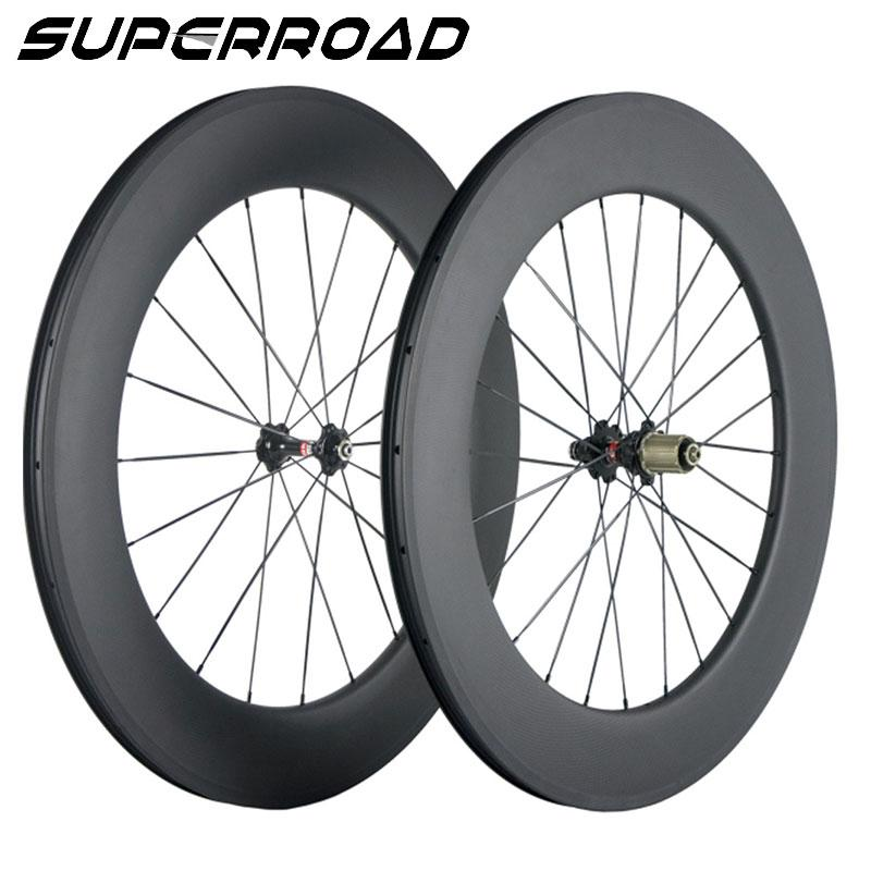 carbon fiber road bike wheels