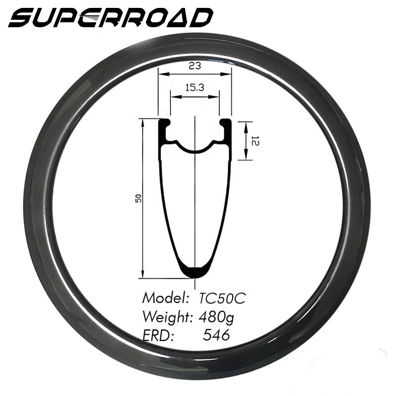 carbon tubeless rims