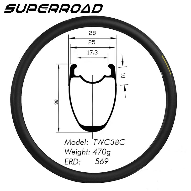 Road Bike Tubeless rim