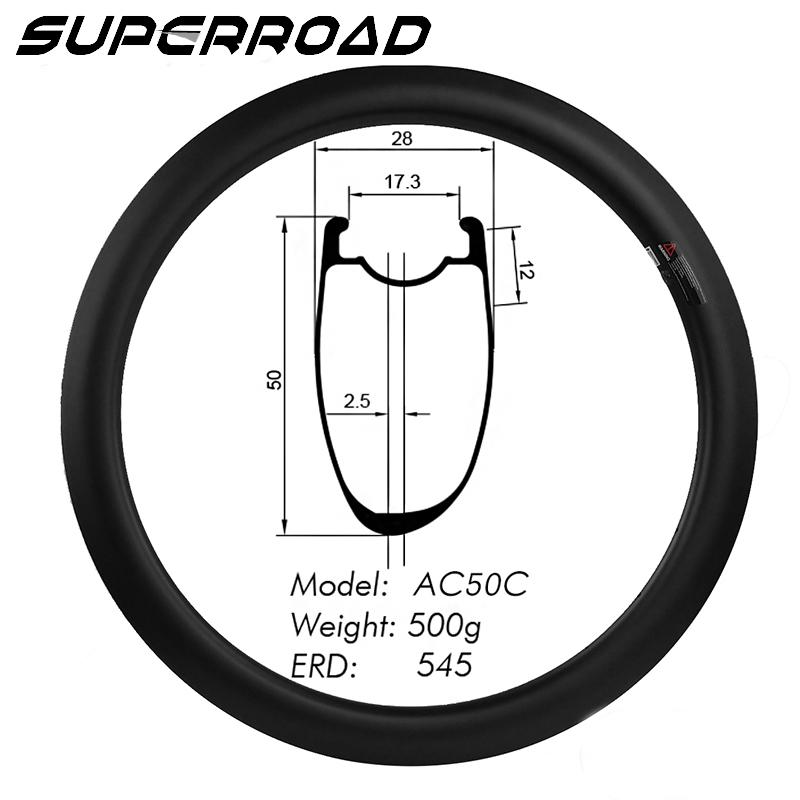Road Bike Clincher Tubeless Ready Rims